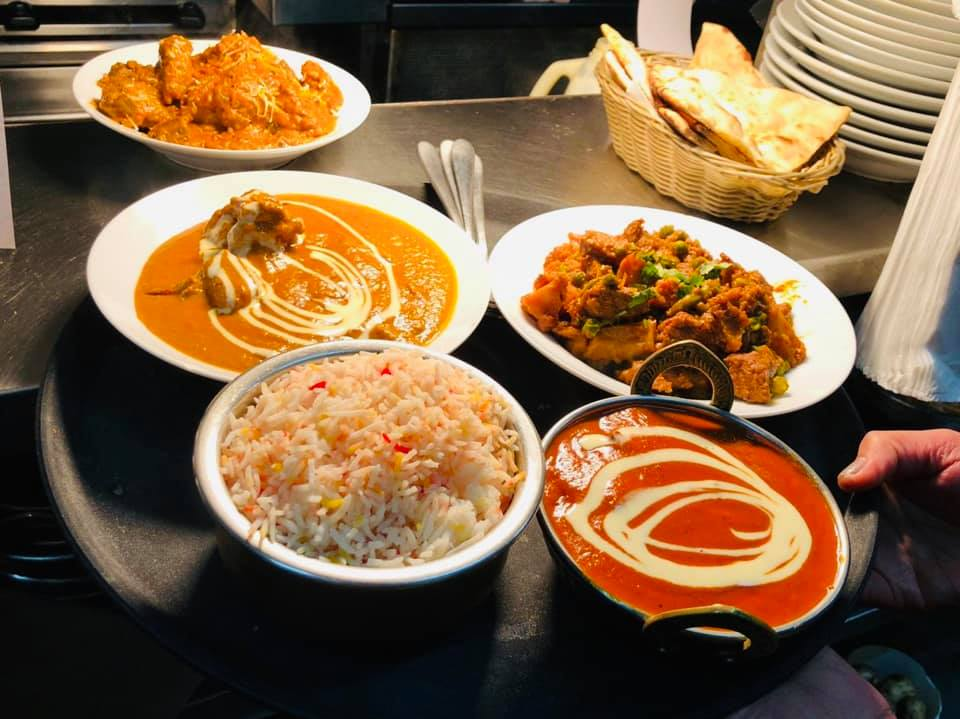 Delicious indian food in royal time indian restaurant in lilydale,melbourne,australia.
